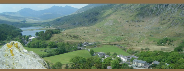 Holiday cottages in Snowdonia - Lloft OT holiday cottage Capel Curig Betws y Coed, Snowdonia