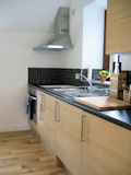 kitchen at Lloft OT cottage in Snowdonia